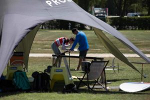 Foil Vorbereitung Kitestrand
