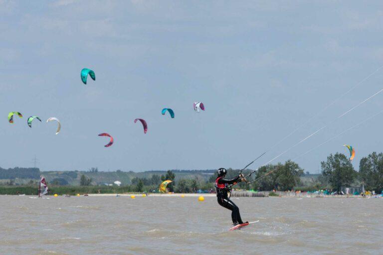 Kitesurfen mit Levitaz Foil
