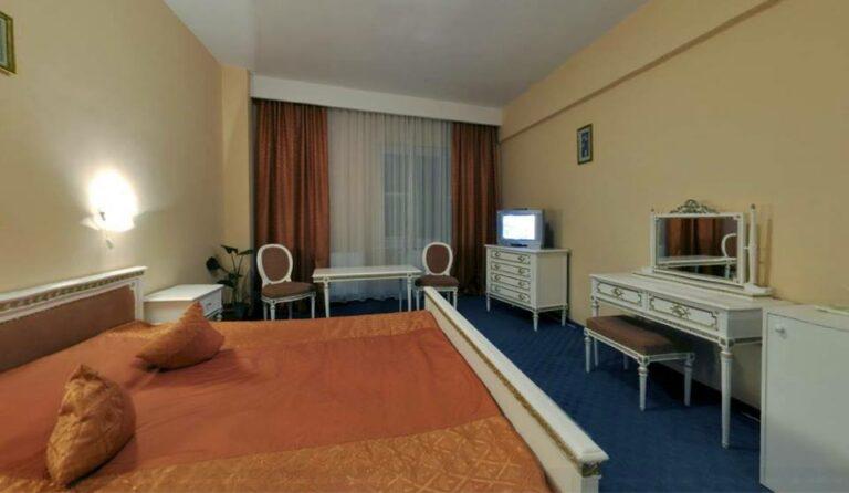 Innenraumfoto mit Bett