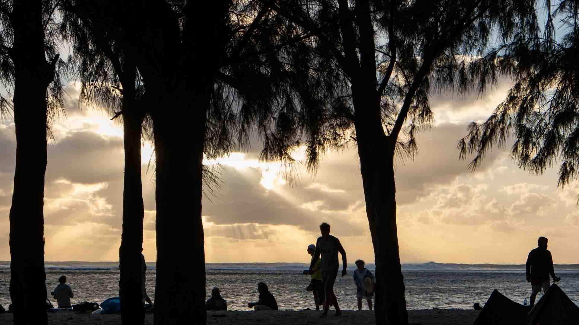 Abendstimmung in Mauritius