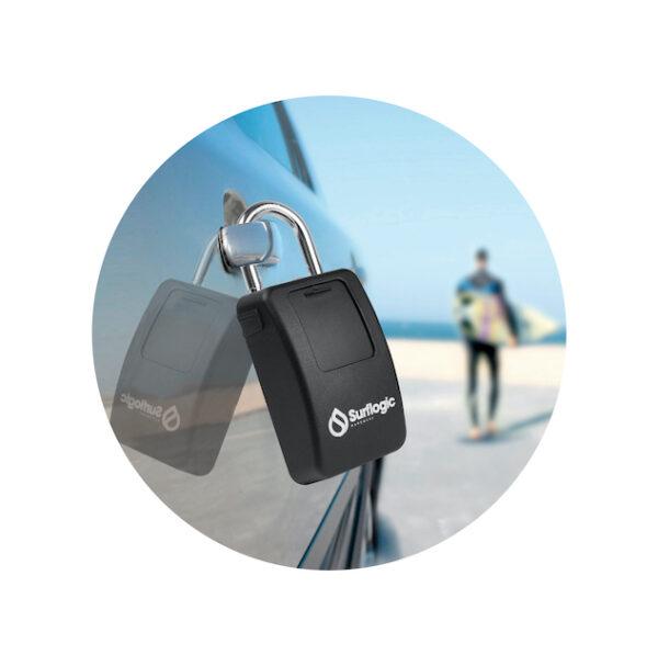 Key Lock am Autogriff
